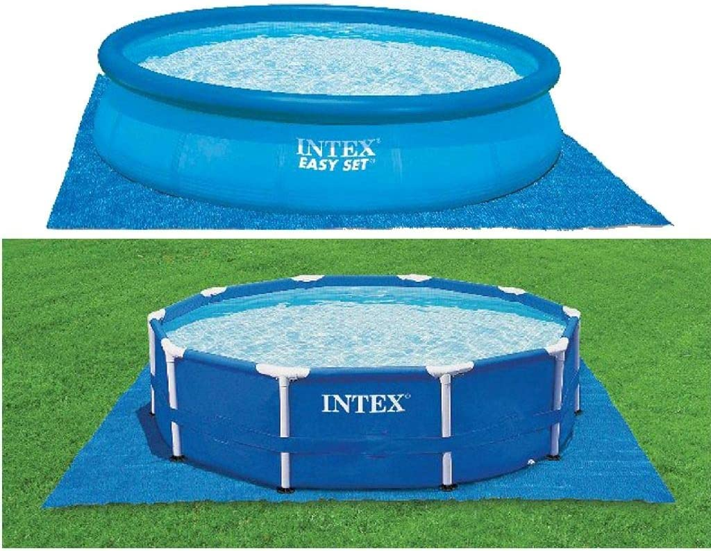 Intex Pool Ground Cloth For 8ft To 15ft Round Above Ground Pools Swimming Pool Maintenance Kits Garden Outdoor