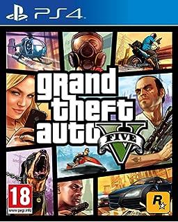 Grand Theft Auto V (PS4): Amazon co uk: PC & Video Games