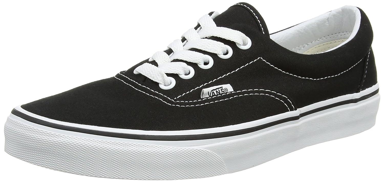 Vans Era Classic Canvas, Zapatillas Unisex Adulto 38.5 EU|Negro (Black / White)