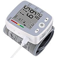 U-Kiss Tensiómetro de muñeca, monitor de presión sanguínea para el hogar o portátil…