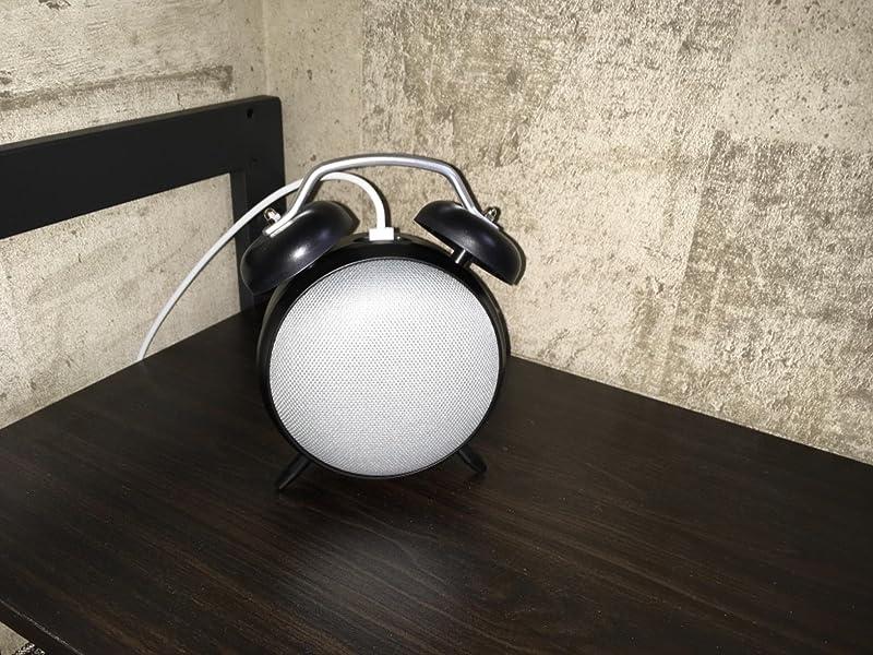 エレコム-Google-Home-ClockStand-AIS-GHMCLWH