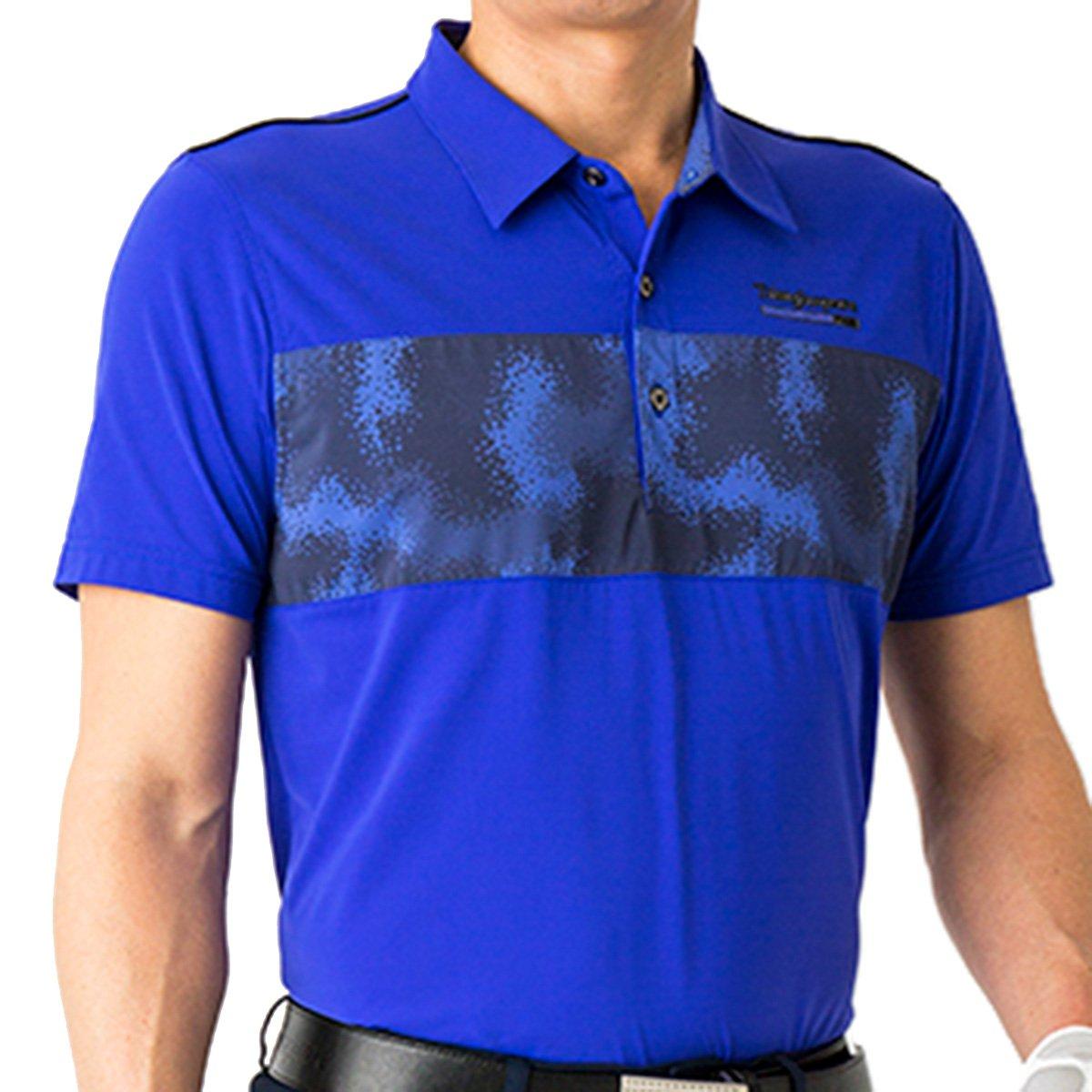 プロギア PRGR 半袖シャツポロシャツ 半袖ポロシャツ B07C86L155 xl|ブルー ブルー xl