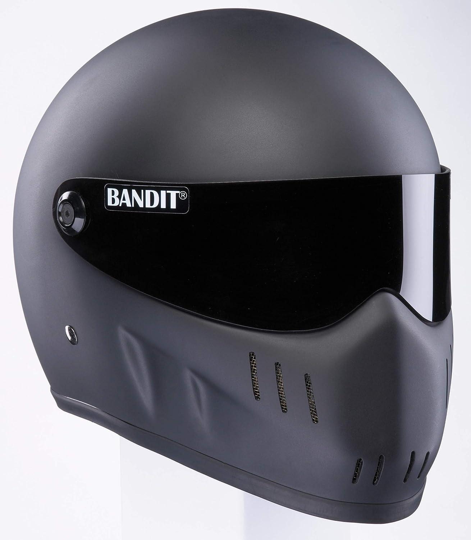 Casco Bandit XXR Negro mate Integral con visera tintada No ECE