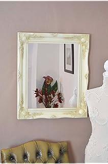 Frames by Post Grande 5,1 cm avorio/crema shabby chic Style specchio ...