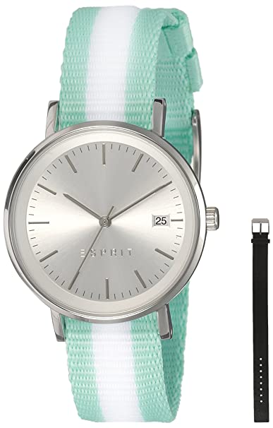 Esprit Analog White Dial Women's Watch-ES108362001 Women at amazon