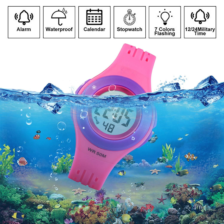 Amazon.com: Reloj de pulsera para niño de 164.0 ft ...