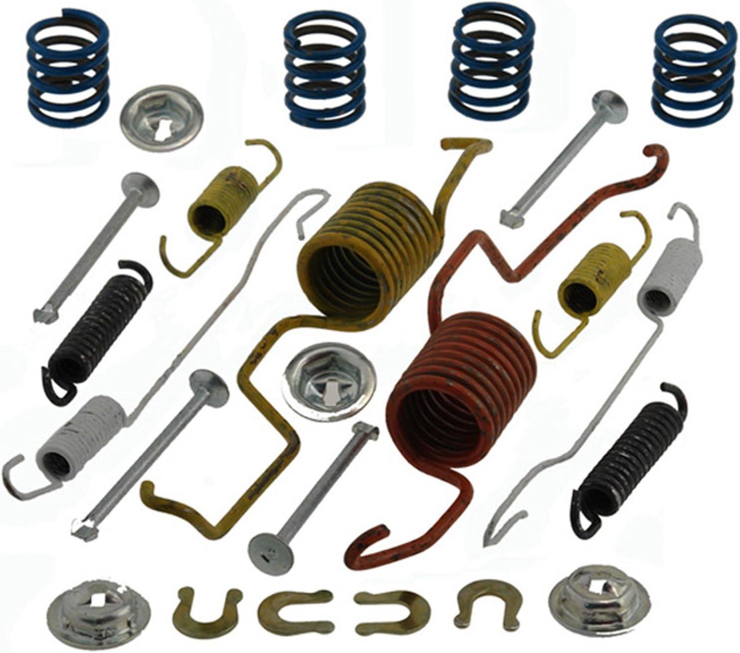 ACDelco 17871B Professional Durastop Bonded Rear Drum Brake Shoe Set
