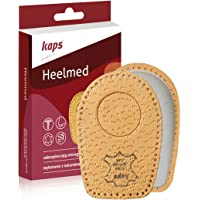 Heel Cups for Calcaneal Spurs - Orthopedic Shoes Insoles - Heelmed Leather Heel Pads – Orthotic Shoe Inserts for Men and Women – Relieve Heel Pain – All Sizes