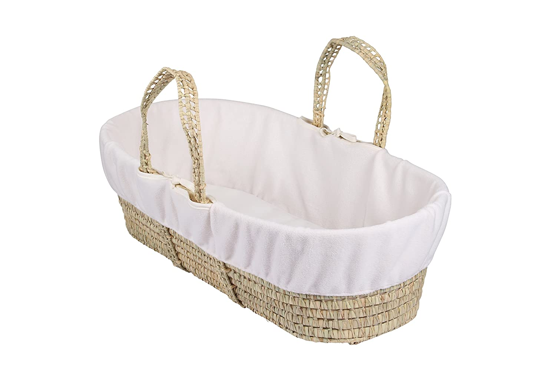 Clair de Lune Fleece Liner/Dressing for Moses/Wicker Basket (Cream) BabyCenter CL5533C