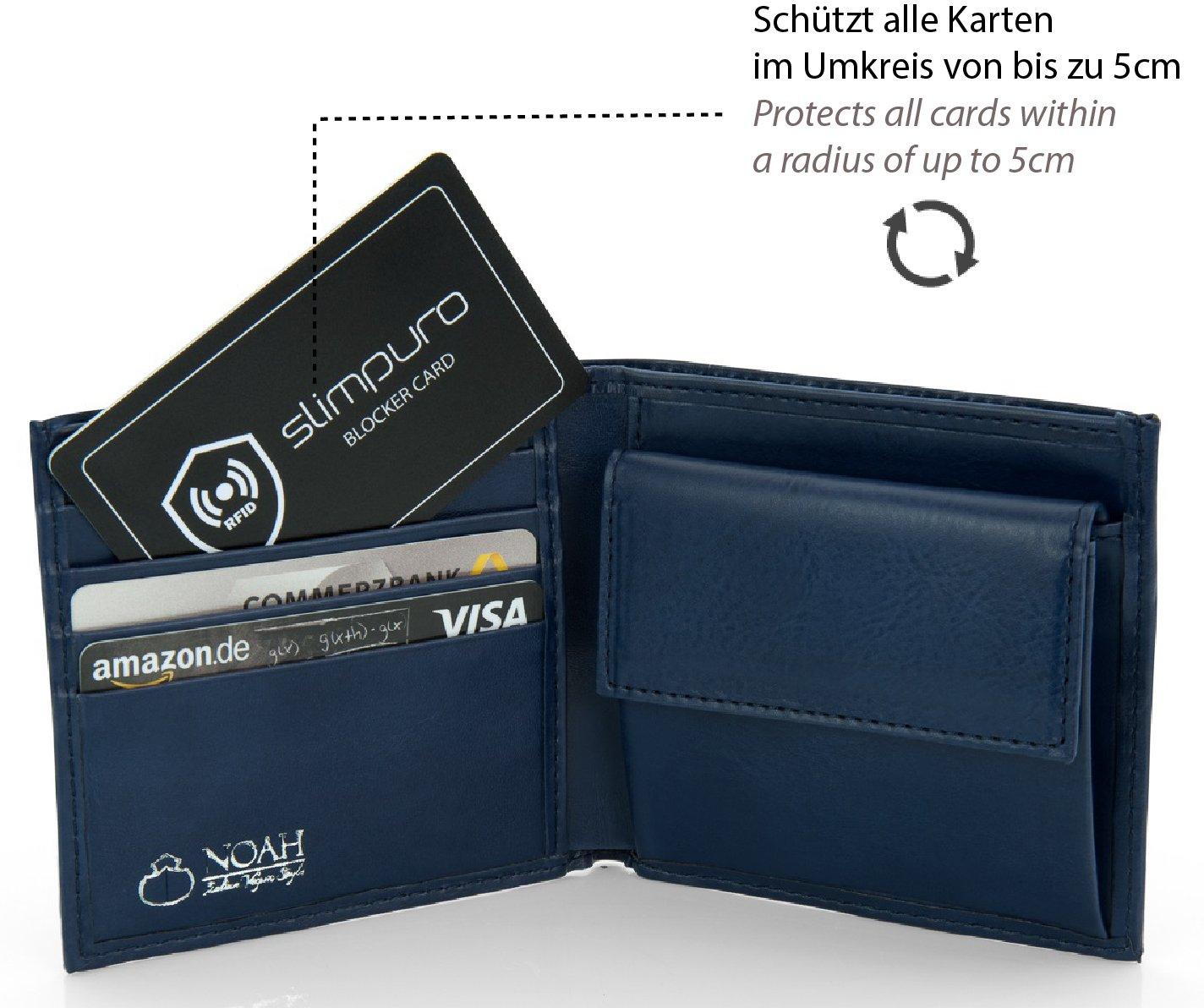 RFID Blocker Card SENZA LED Con o senza LED Una carta protegge borse e passaporto RFID NFC Blocking Per una borsa schermata Protezione carta RFID per carte di credito
