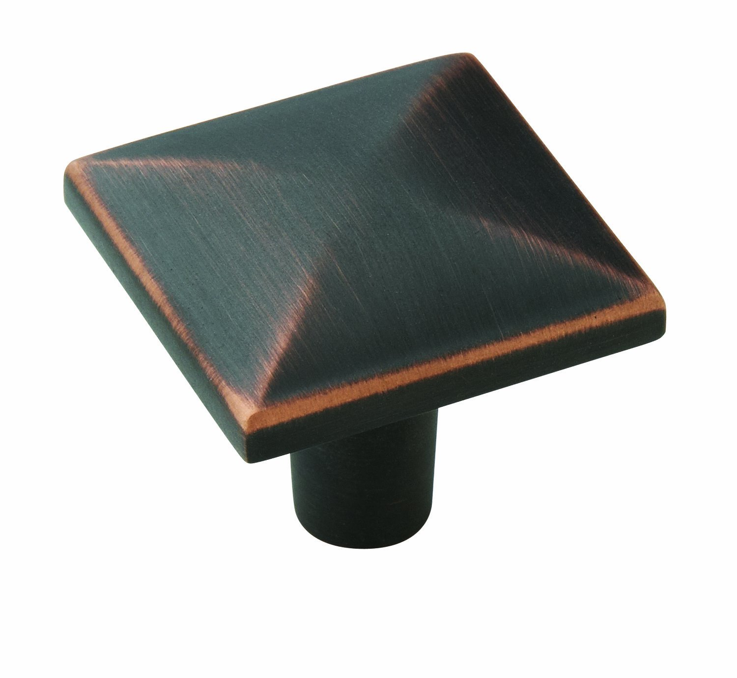 Amerock BP29370-ORB Extensity Collection Square Knob, Oil-Rubbed ...