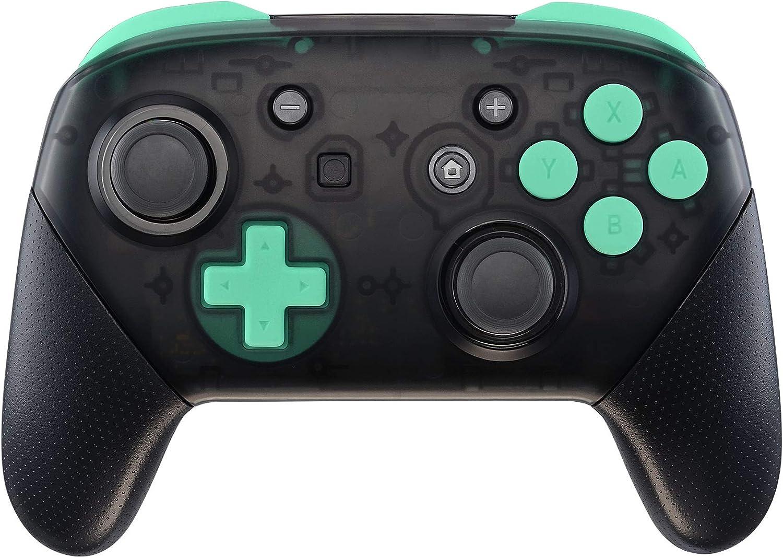 eXtremeRate ABXY D-Pad ZR ZL L R Botones para Mando Nintendo Switch Pro Teclas de Reemplazo Tacto Suave Botón Completo con Herramientas para Nintendo Switch Pro-Controlador NO Incluido(Menta Verde): Amazon.es: Electrónica