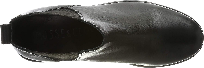 Angebot begrenzen Günstig Fabrikpreis Zuverlässig Musse & Cloud Damen Priti Chelsea Boots Schwarz Nvbk 001 HqjyQ PcLy4 gza2j