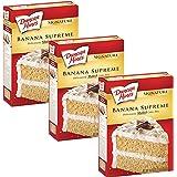 Duncan Hines Signature Cake Mix Banana Supreme 16.5oz (Pack of 3) by Duncan Hines Signature