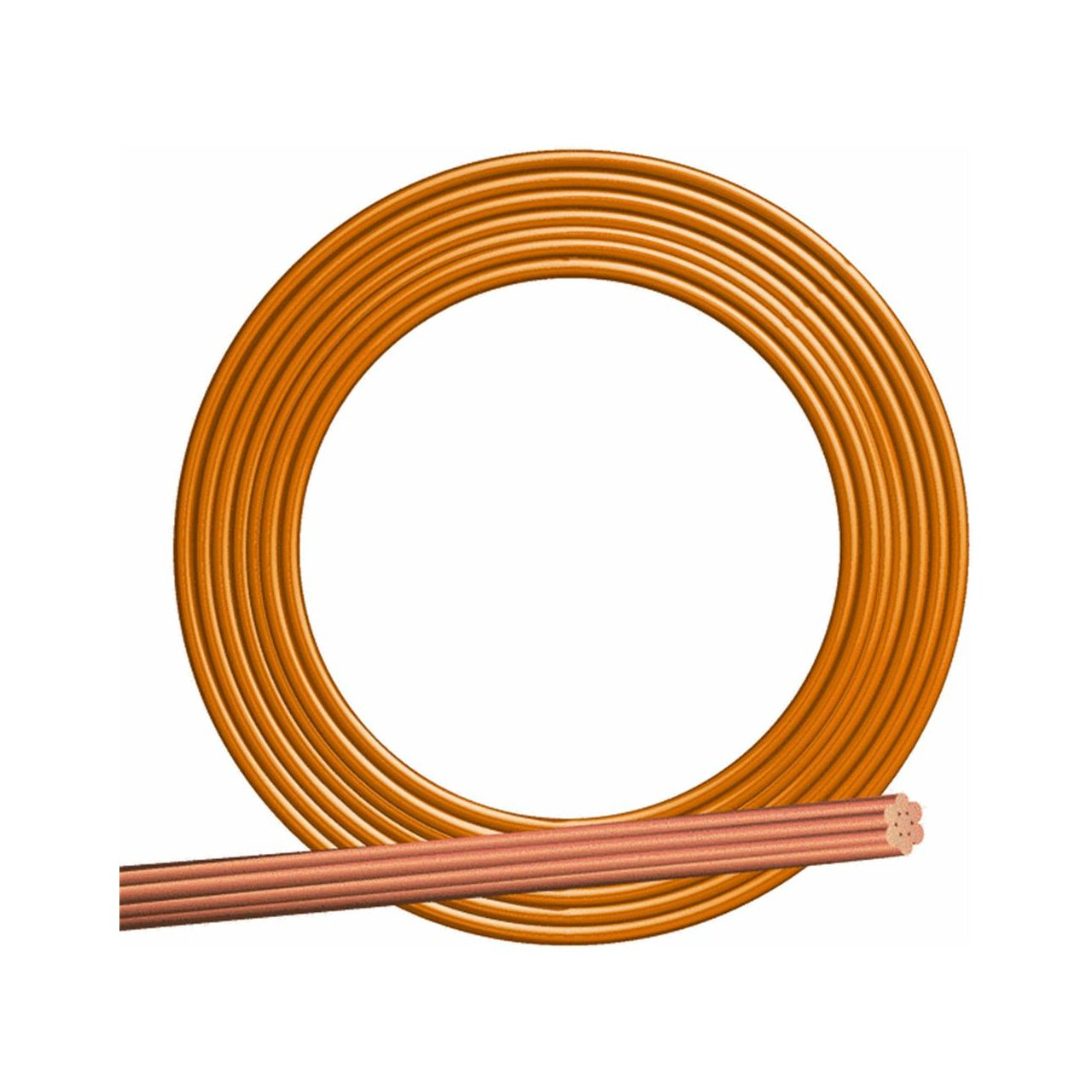 Southwire 10644302 200\' 4 Solid Bare Copper Cable - Electrical Wires ...
