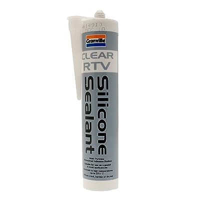 Granville 235 310Ml Rtv Silicone Sealant Clear: Automotive
