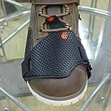 シフトガード WISH SUN【改良高品質、耐摩耗性向上!】 シフトパッド 高級ブラック 抜け落ちにくい 滑り止め 傷から靴を守る 新しい体験をトライクで