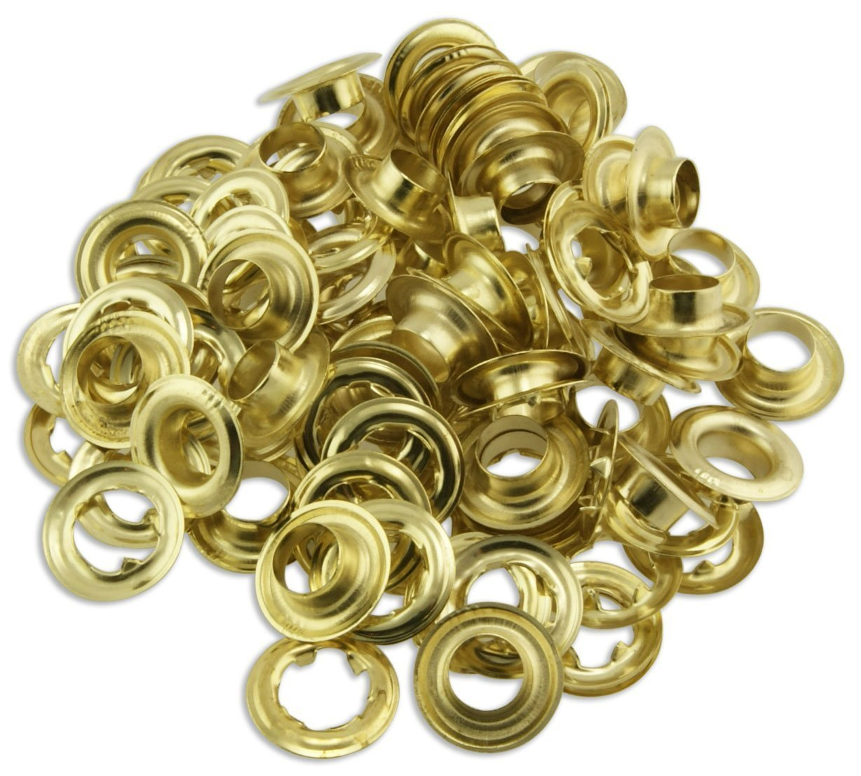RAM PRO 50pc Quality Brass 1 2 Grommets Tarps Canvas Covers