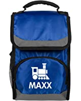 Maxx Kids Cute Train Lunch Bag: Port Authority Flap Lunch Cooler Bag