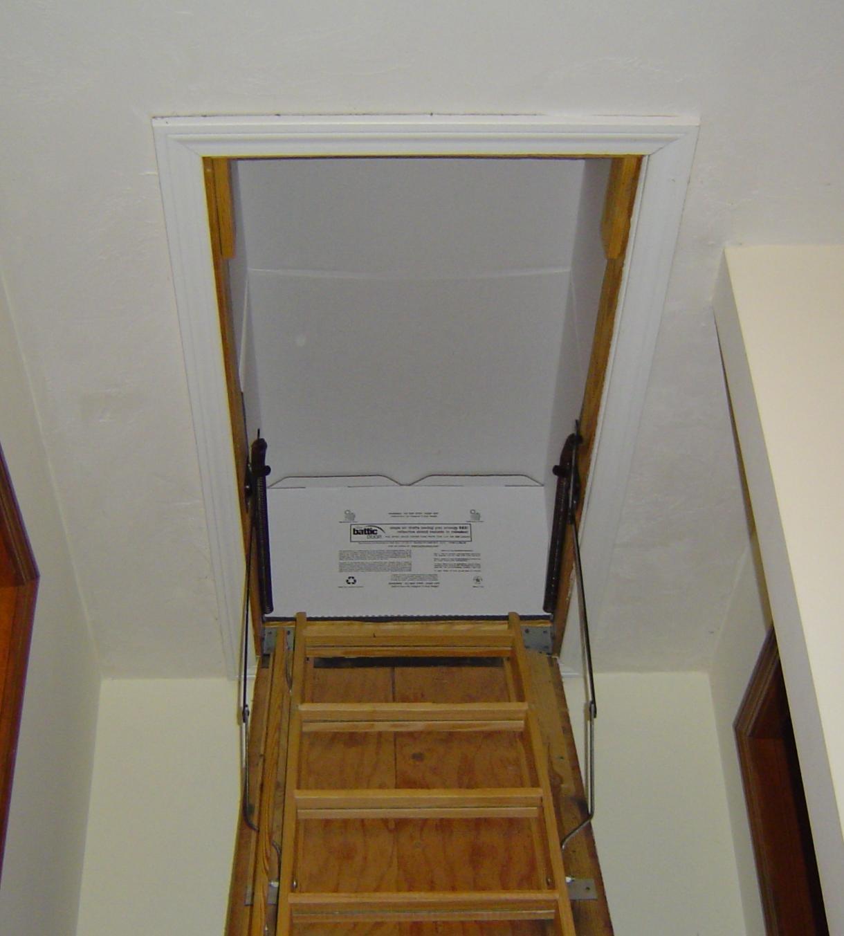 r 50 22 in x 54 in attic stair cover amazon com