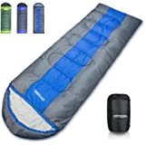 arteesol Sleeping Bag, Waterproof Lightweight for Indoor & Outdoor 5-85℉ 4 Seasons Warm and Comforable Camping Gear Equipment for Hiking Traveling Backpacking, Kids Teens Adults Couples