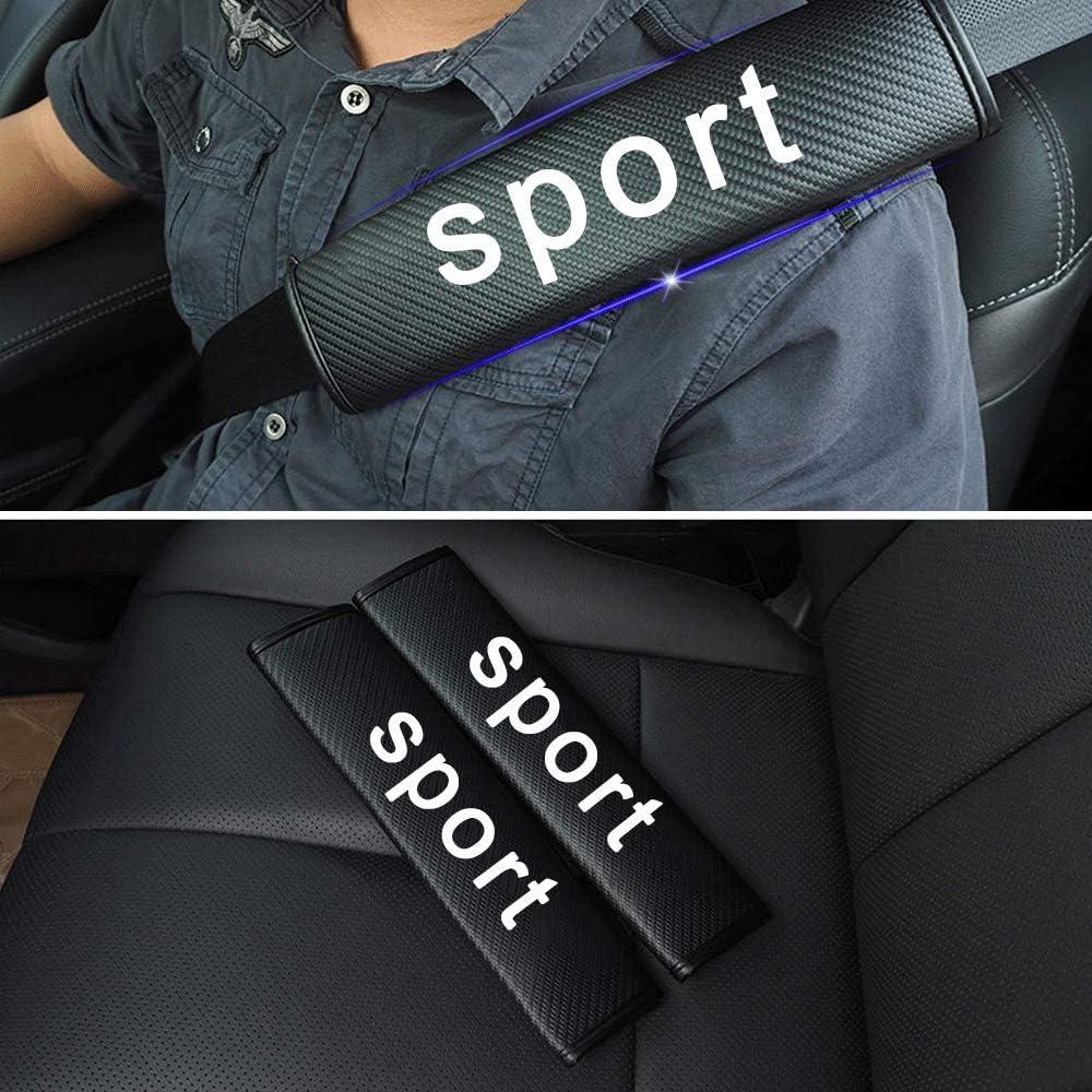 For Infiniti Q50L Q60 Q70L QX30 Seat Belt Cover Seatbelt Shoulder Pads Safety Strap Soft Cushion Protect Neck and Shoulder 2pcs Red