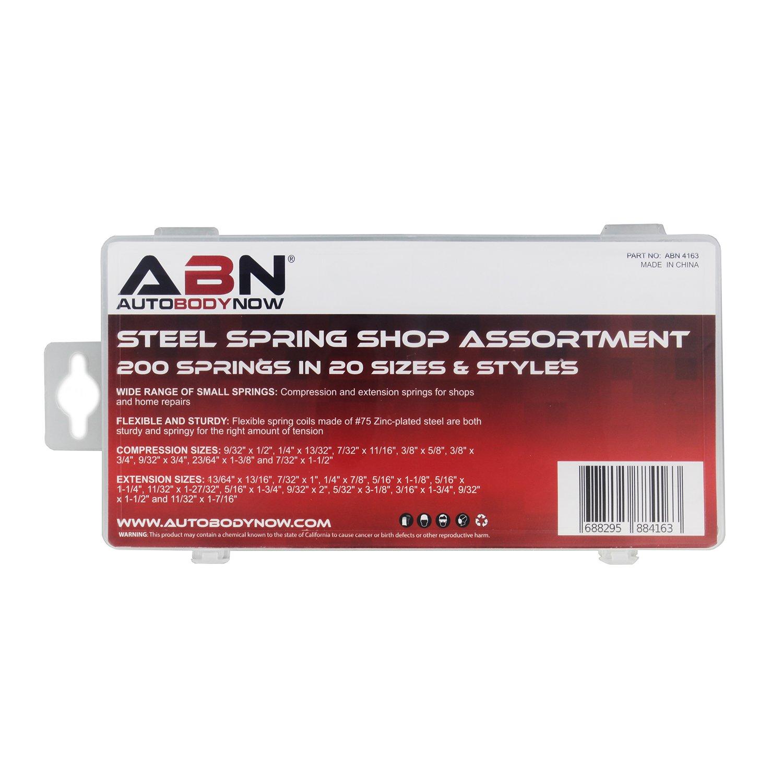 Amazon.com: ABN - Juego de 200 muelles de compresión y ...