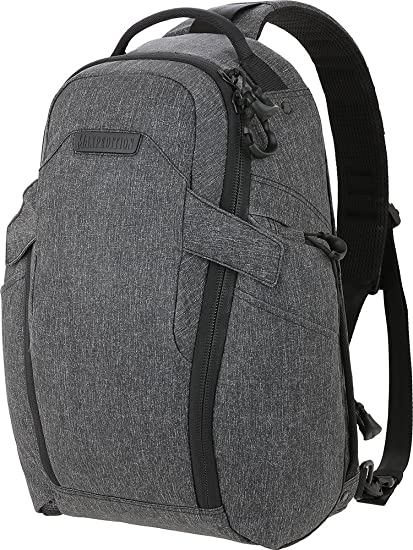 4d3019f7e3 Maxpedition Entity 16 CCW-Enabled EDC Sling Pack Charcoal  Amazon.co.uk   Clothing