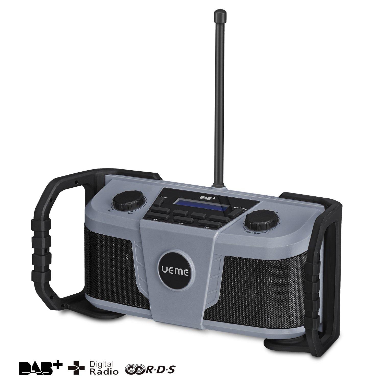 Radio DAB+ (DAB-322) de Ueme, con FM y Bluetooth, carcasa ...