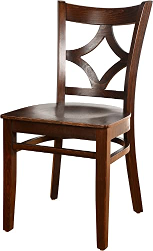 Beechwood Mountain BSD-23SS-W Solid Beech Wood Side Chair