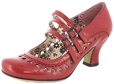 a84be41dc3a New Ladies/Womens Red Patent Hush Puppies Freya Court Shoes. - Red Patent -  UK SIZE 10