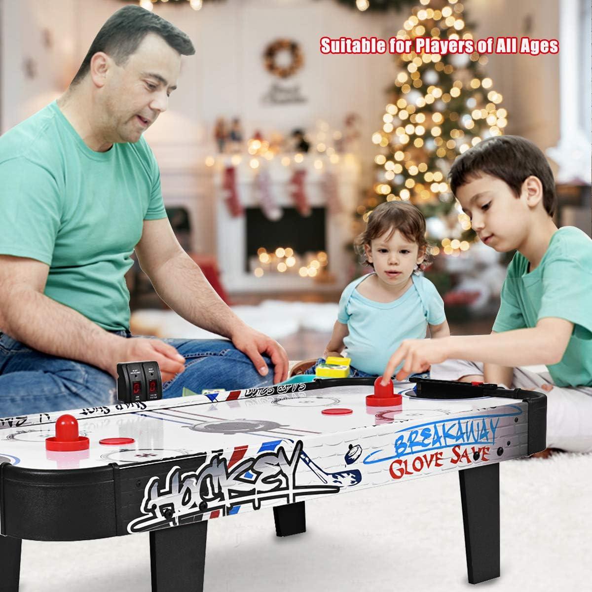 Goplus Air Powered Hockey Table