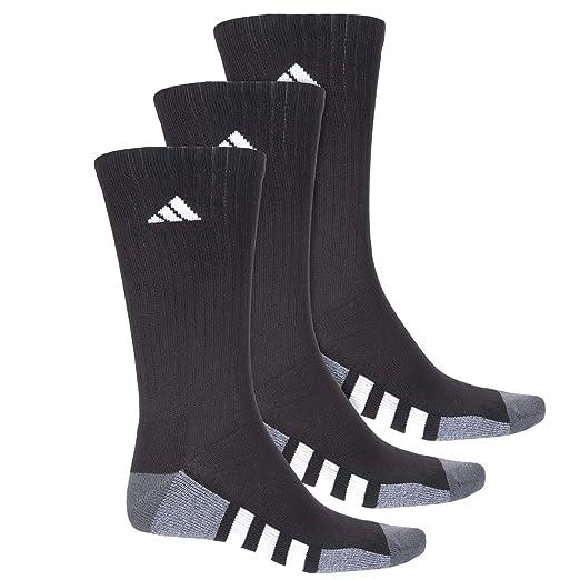 : Adidas Color Block 3 Stripe Socks Crew, 3 Pack