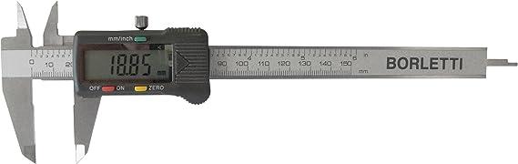 Borletti-CDJB15 Pied /à coulisse num/érique 150/mm