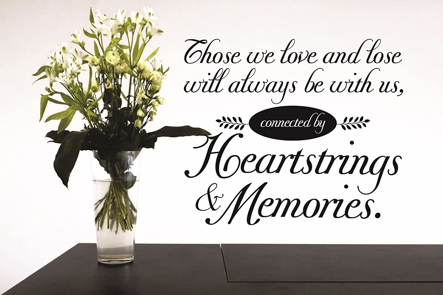 Black Design with Vinyl RAD 845 2 Follow Your Heart Life Quote Wall Decal 16 x 24