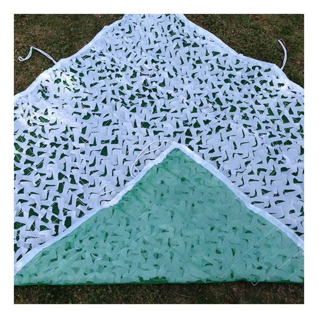 Tarnnetz Weißes Tarnnetz Kinder Studie Tarnnetz Geeignet für Outdoor-Camping, Versteckte Jagd Fotografie, Auto Sonnenschutz Bar, Wald, Halloween, Weihnachtsdekoration (größe   5  6m)