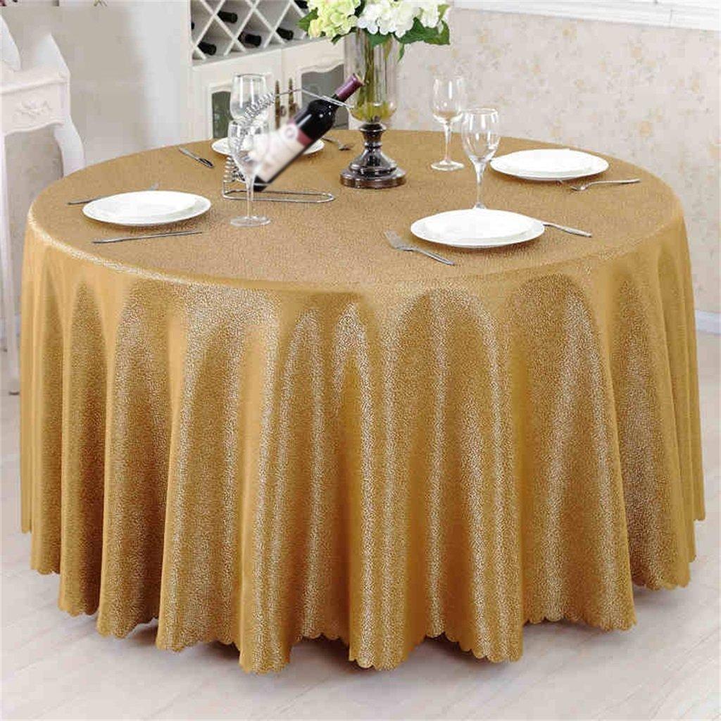 QPG Hotel Runder Tisch Couchtisch Continental Restaurant Tisch Runder Tisch Rock ( Farbe    2 , größe   Round 300cm ) B0786XVS76 Tischdecken Meistverkaufte weltweit | Moderate Kosten
