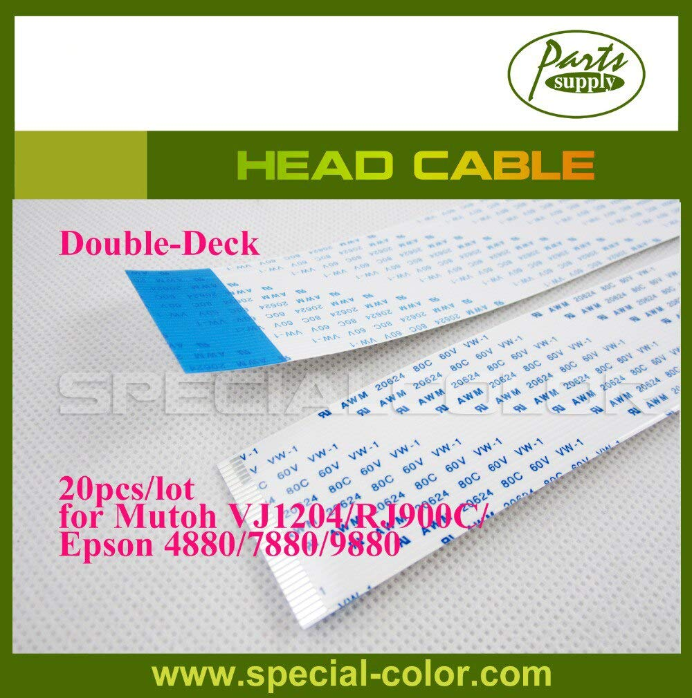 Printer Parts Wholesales Mut0h VJ1604E//1204 Printer Cable for Eps0n Stylus Pro 4880//4800//7800//7450//7400//9800//9400//7880//9880//9450 Head Cable