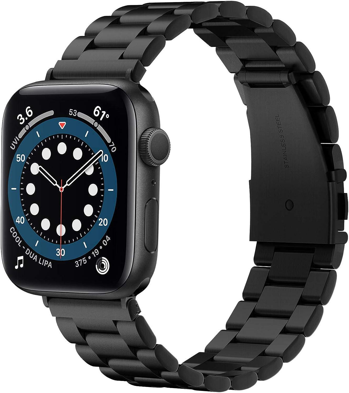 Spigen Modern Fit Designed For Apple Watch Band for 42mm/44mm Series 6/SE/5/4/3/2/1 - Black