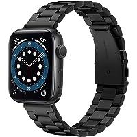 Spigen Modern Fit Compatibel met Apple Watch Bandje Strap Band voor 44mm Serie 6/SE/5/4 en 42mm Serie 3/2/1 - Zwart