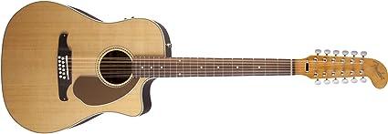 Fender 0968607021 Villager - Guitarra eléctrica (12 cuerdas ...