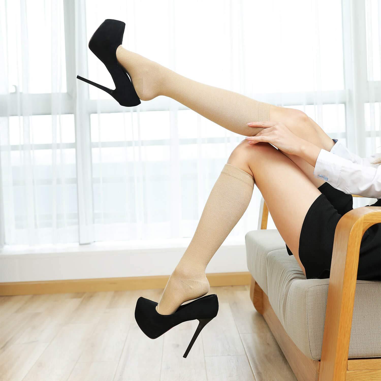 Compression Socks Women Men 15-20 mmHg 6//7//12-Pairs Mens Womens Athletic Sock for Dress,Running,Medical,Varicose Veins,Travel