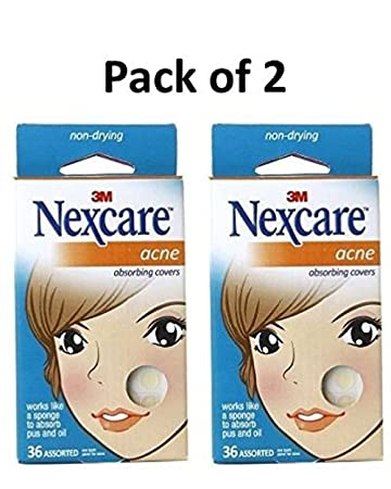 Acne Dressing Pimple Patch Small Stickers 40 Patches New 2019 Official Health & Beauty 3m Nexcare