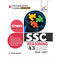 SSC Reasoning Topic-Wise Latest 43 Solved Papers (2010-2017)