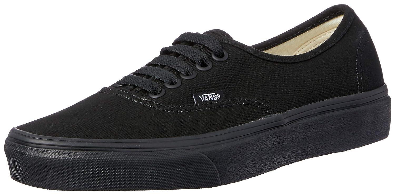 [バンズ] VANS VANS AUTHENTIC VEE3 B01M3Y5GDM 38.5|ブラック ブラック 38.5