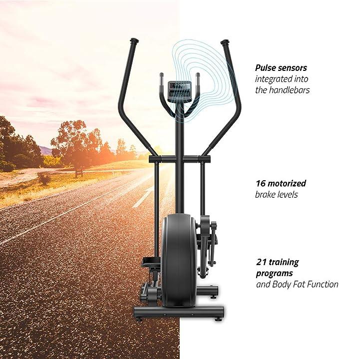 TechFit C800-PM Bicicleta Elíptica con Sistema de Frenado ...