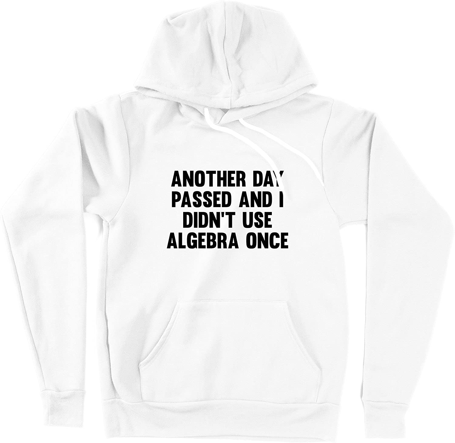 VectorPlanet Another Day Passed Algebra Hoodie White