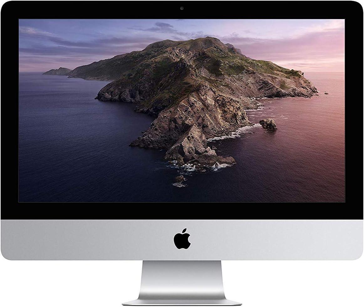 """Apple 21.5"""" iMac with Retina 4K Display Desktop, Intel Core i5, 8GB RAM, 1TB HDD - MRT42LL/A (Renewed)"""