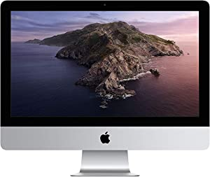 "Apple 21.5"" iMac with Retina 4K Display Desktop, Intel Core i5, 8GB RAM, 1TB HDD - MRT42LL/A (Renewed)"