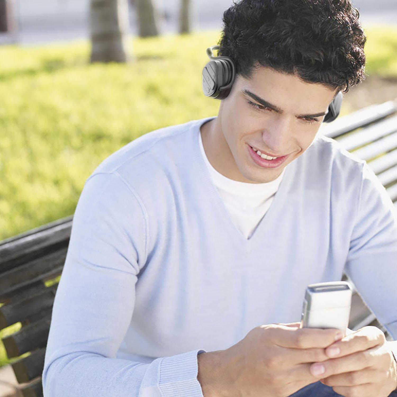 AUKEY bluetoothヘッドホン ワイヤレスヘッドセット 耳掛け式 iPhone 7,iPhone 7 Plus ,6S, 6S Plus,Sony, Android スマートフォンなど対応 (ブラック) EP-B26